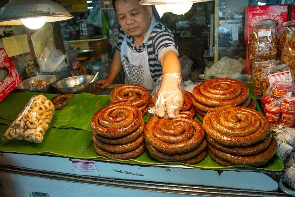 Chiang Mai Market Sausage
