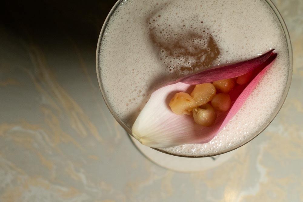 Cocktail at Bar Libre in Da Nang Vietnam