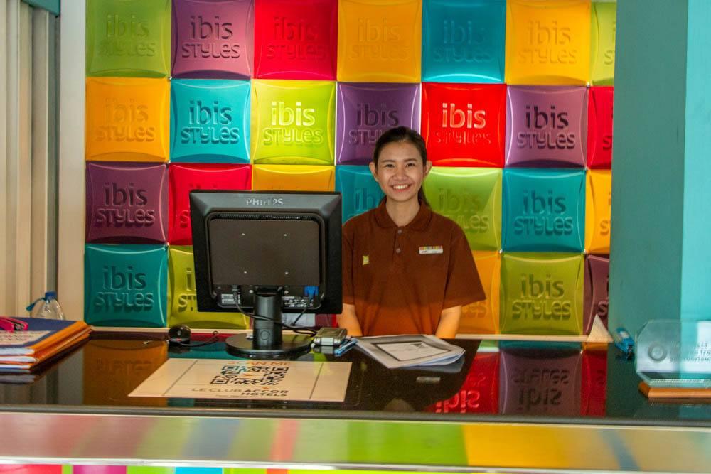 Ibis Styles Lobby in Chiang Mai