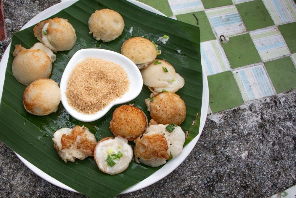 LoveKanom Krok Dessert at Chiang Mai Cooking Class