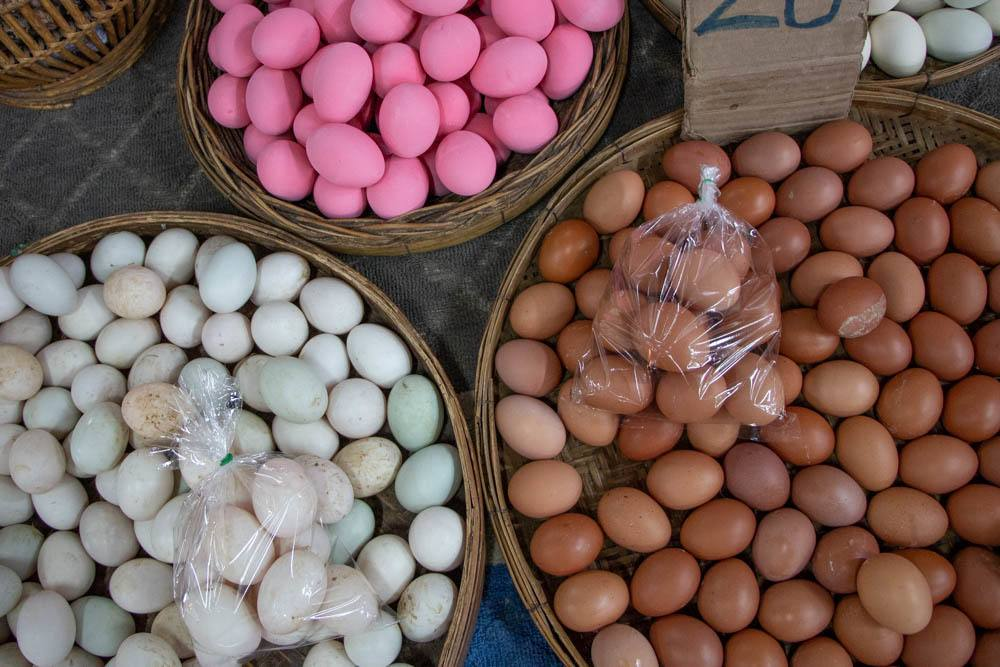 Love Chiang Mai Cooking Class - Market Eggs