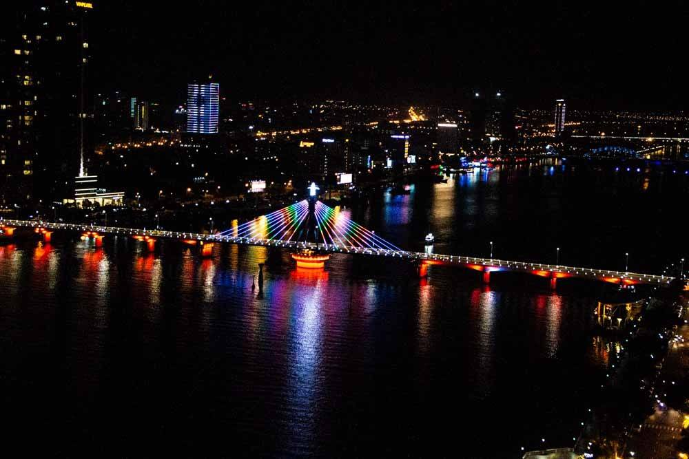 Night View at Novotel Danang Premier Han River