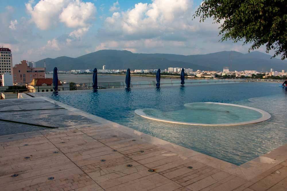 Pool at Novotel Danang Premier Han River