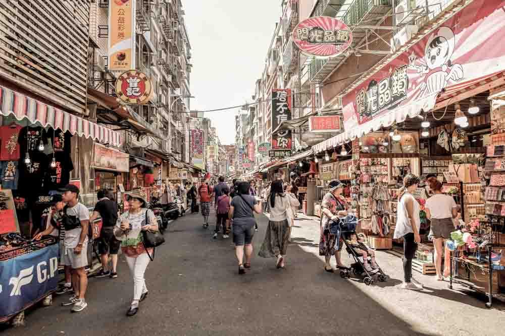 Taipei Shopping Street