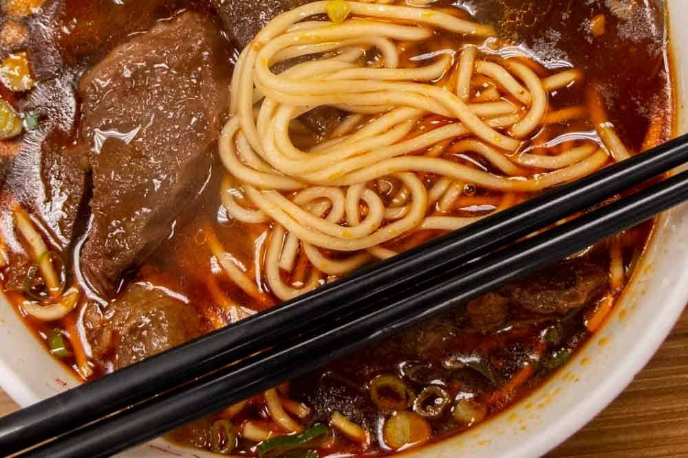 Yong Kang Beef Noodle in Taipei