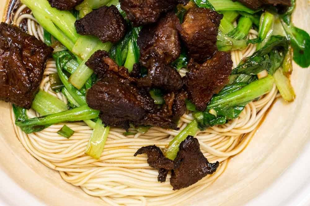 Best of 2018 - Noodles in Shanghai