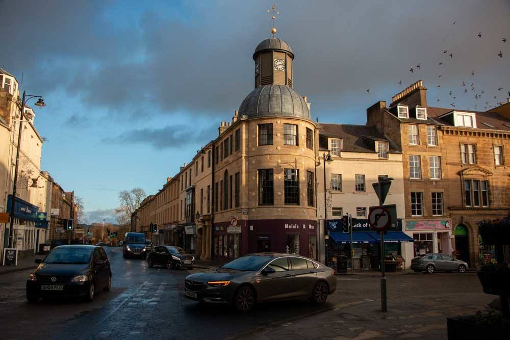 Cupar Burgh Chambers Apartment Building in Fife Scotland