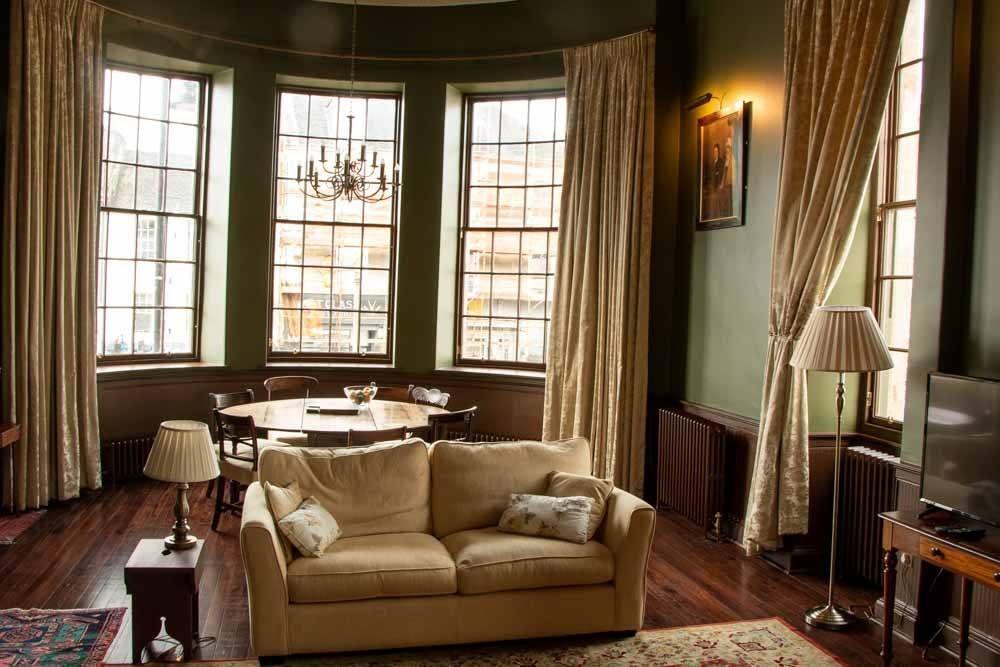 Cupar Burgh Chambers Lounge in Fife Scotland
