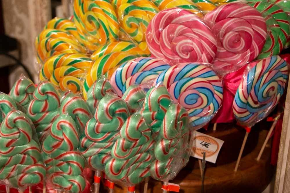 Hamburg Christmas Market Candy