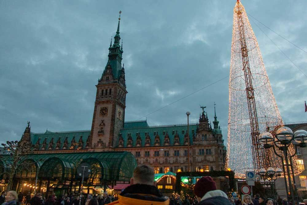 Hamburg Christmas Markets - Rathaus Market