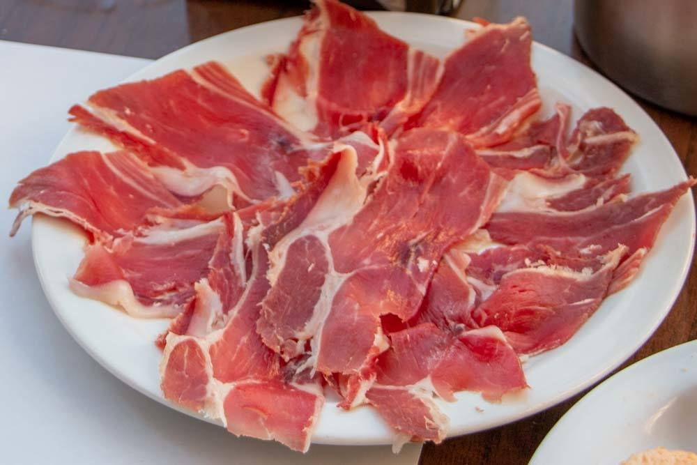 Jamon Iberico in Spain