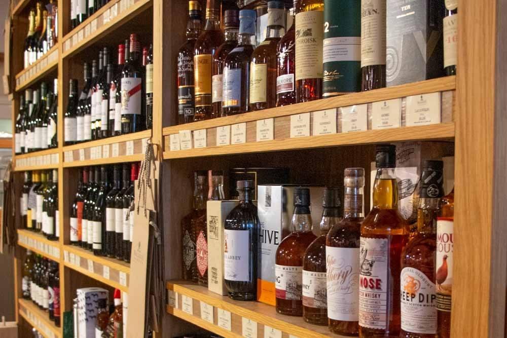 Liquor at Balgove Larder in Fife Scotland