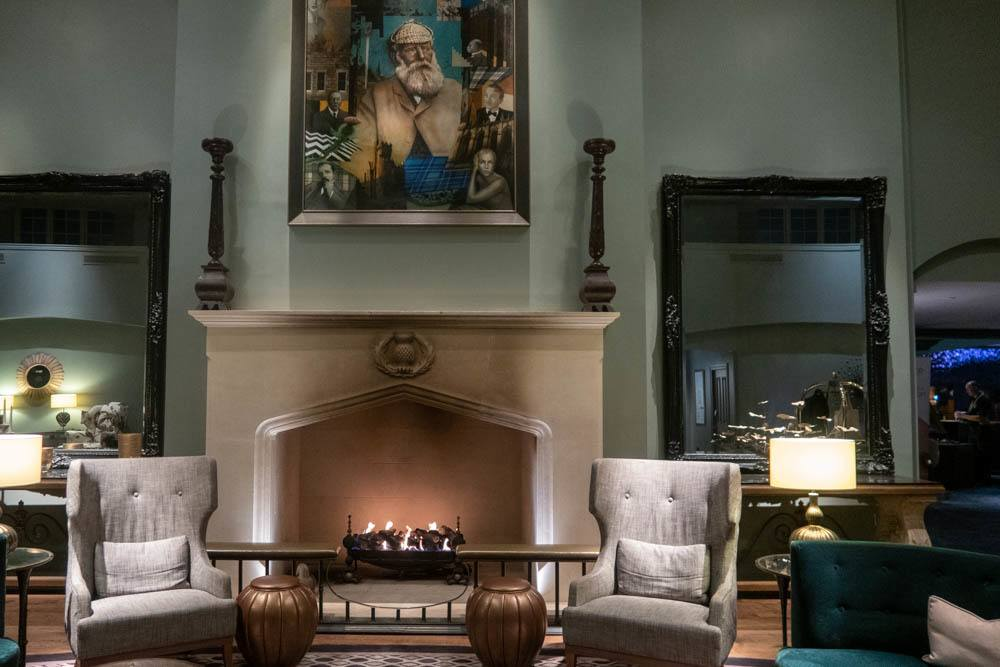 Lounge at Fairmont St. Andrews in Fife Scotland