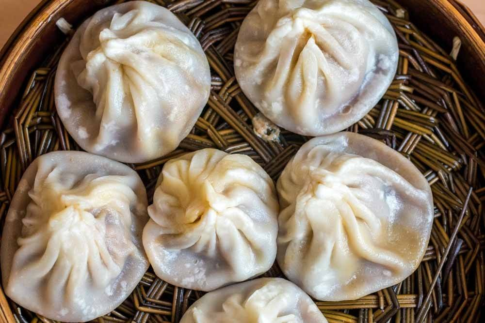 Soup Dumplings in Shanghai