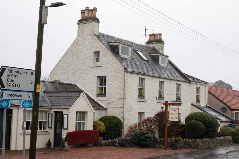 The Peat Inn in Fife Scotland