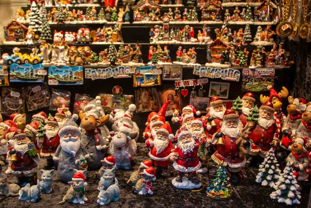 Trinkets at Hamburg Christmas Markets