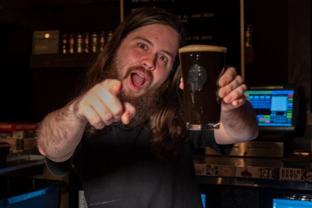 Aaron Long at Thin Man Brewery in Buffalo
