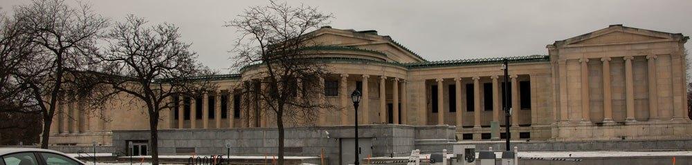Albright Knox Art Gallery in Buffalo