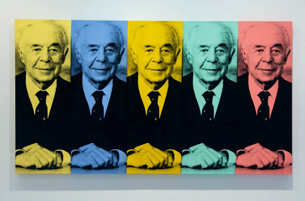 Andy Warhol's Portrait of Seymour H. Knox at Albright Knox Art Gallery in Buffalo