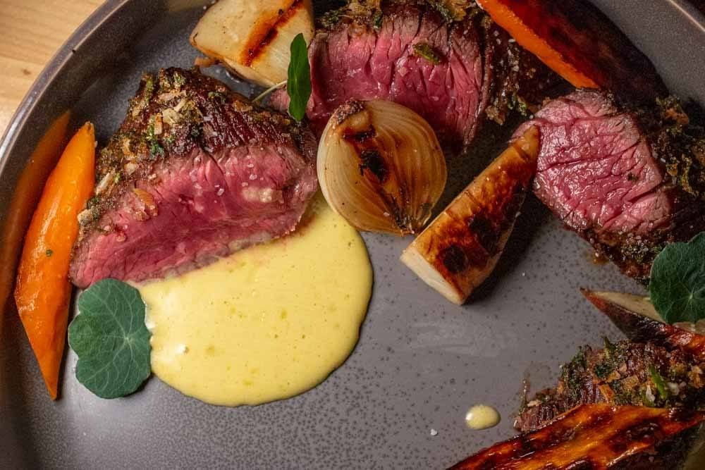 Beef Selection at Las Puertas in Buffalo