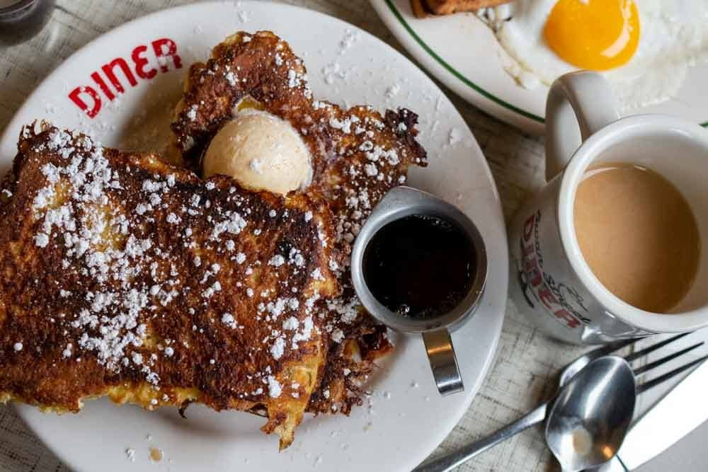 French Toast at Swan Street Diner in Buffalo