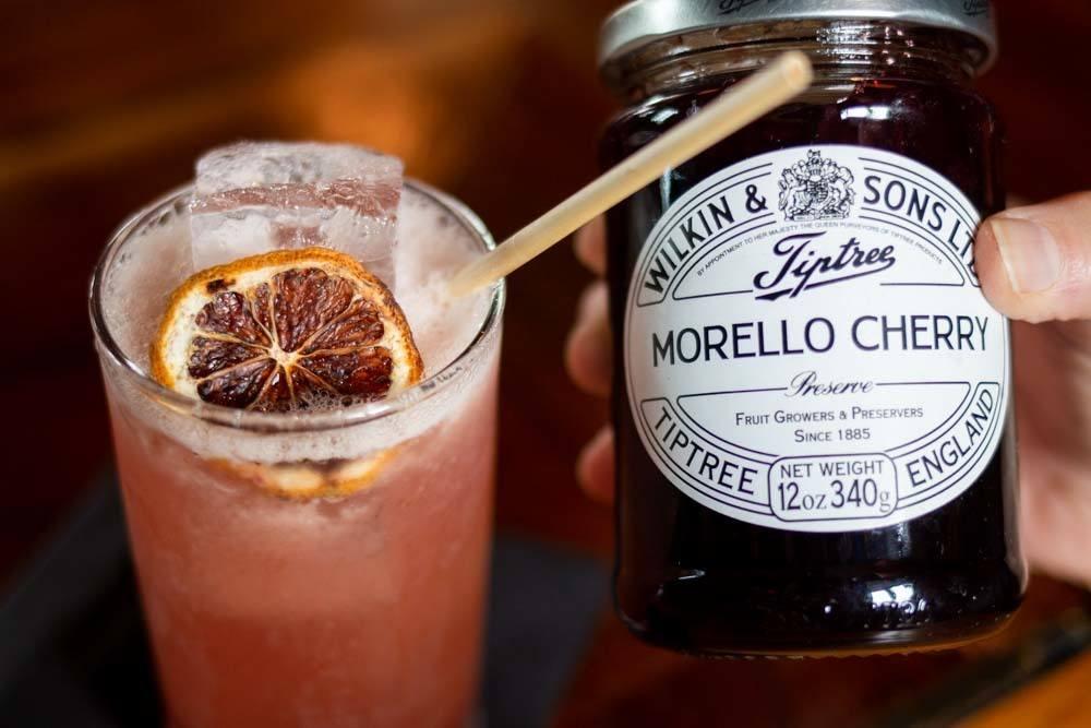 Jam Cocktail at Ballyhoo in Buffalo