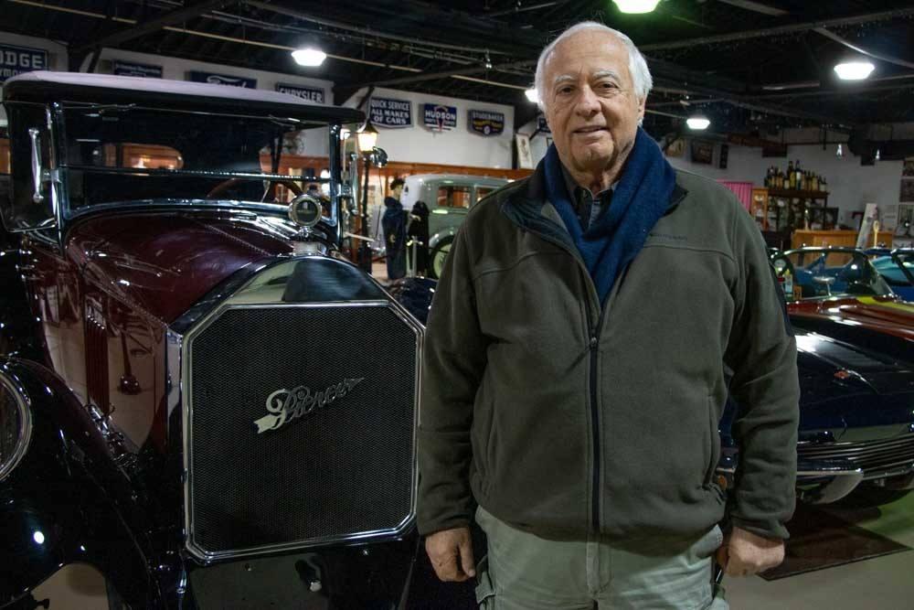 James Sandoro at Pierce Arrow Museum in Buffalo