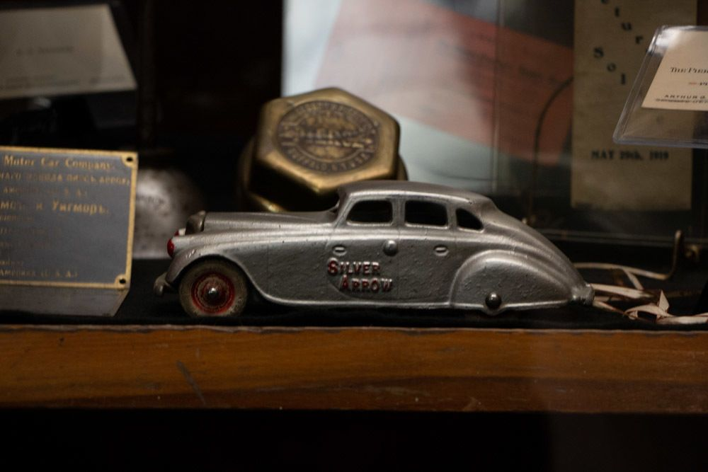 Toy Car at Pierce Arrow Museum in Buffalo