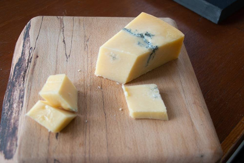 Natural Blue Cheddar at Cheddar Gorge Cheese Company