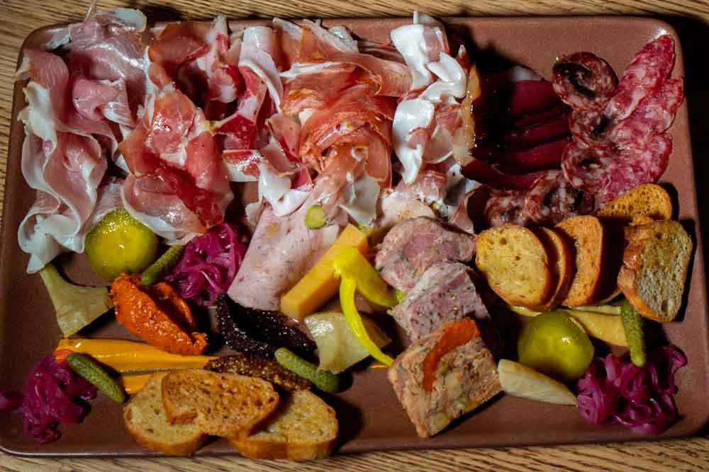 Charcuterie at Cure in Pittsburgh