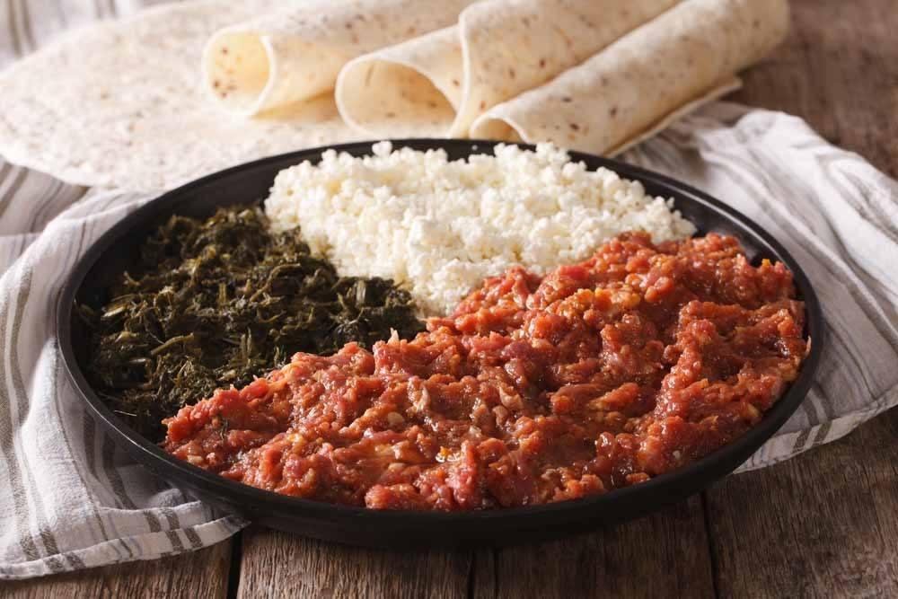 Ethiopian Food - Kitfo