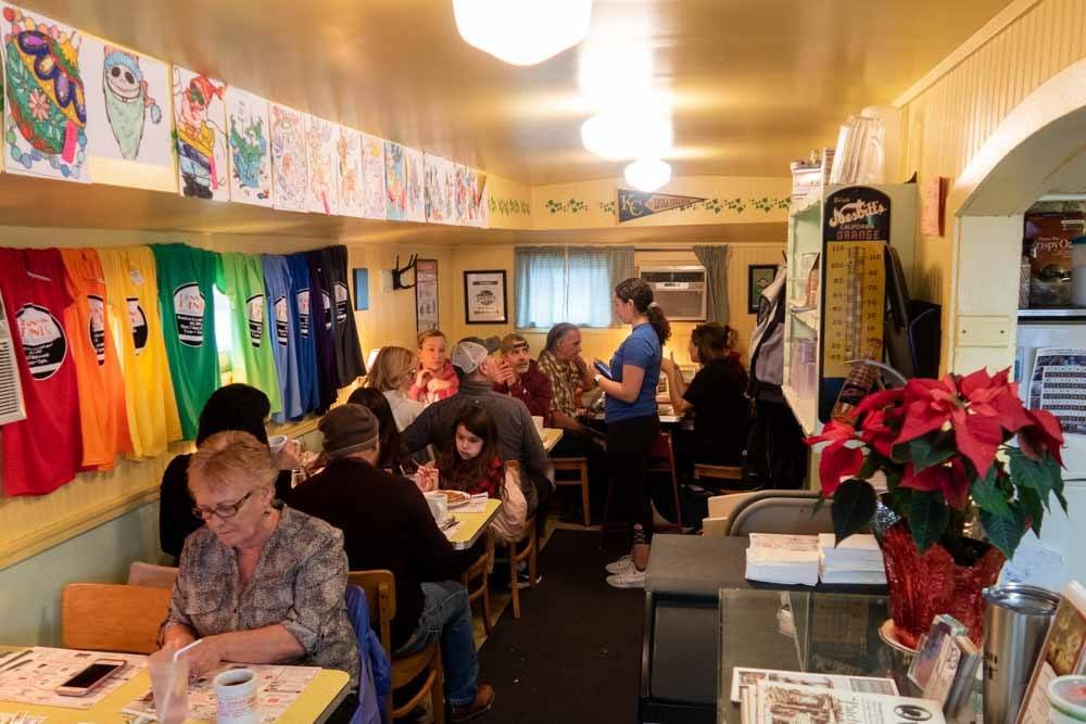 Penn Yan Diner in the Finger Lakes