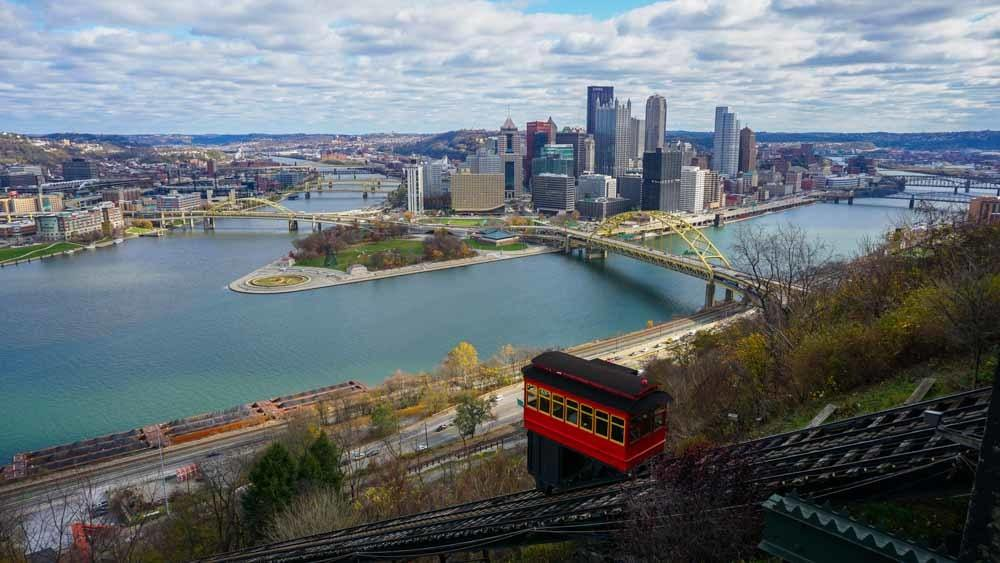 Pittsburgh Skyline View