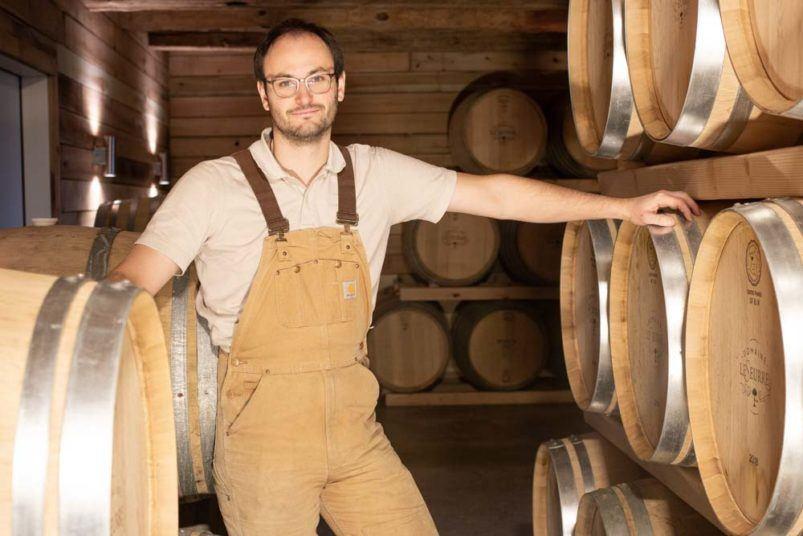 Sébastien Lesurre at Domaine Lesurre on the Finger Lakes Wine Trail