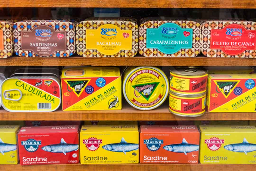What to Eat in Lisbon - Canned Sardines