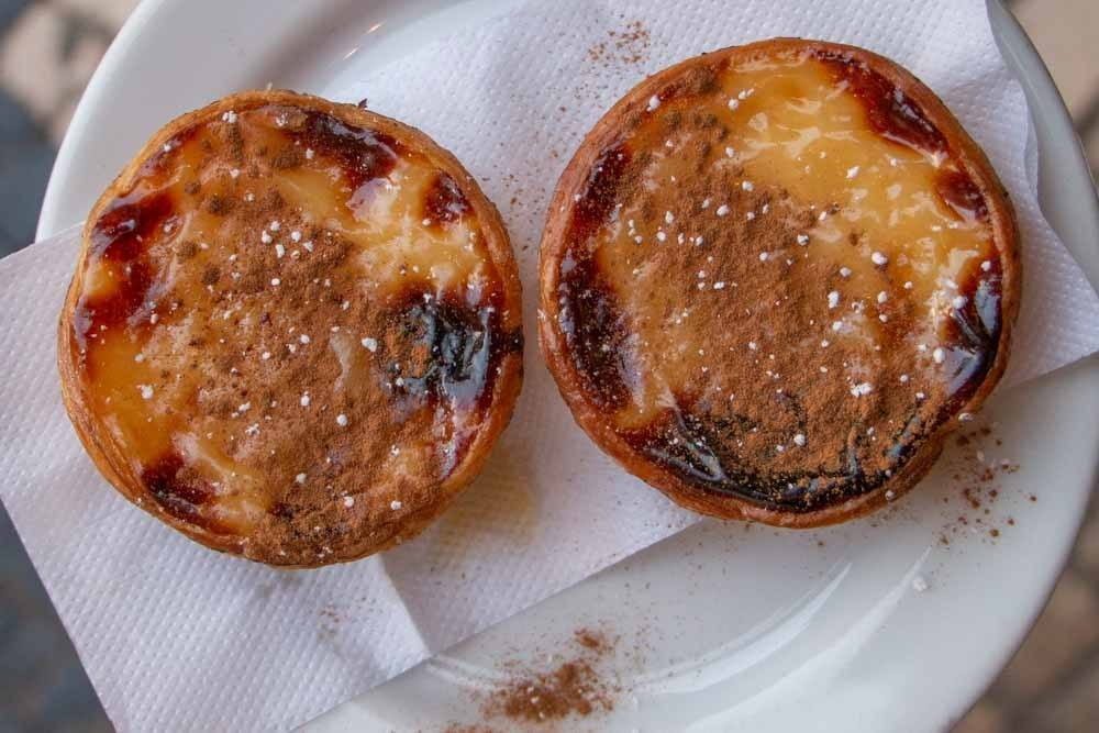 What to eat in Lisbon - Pastel de Nata at Manteigaria
