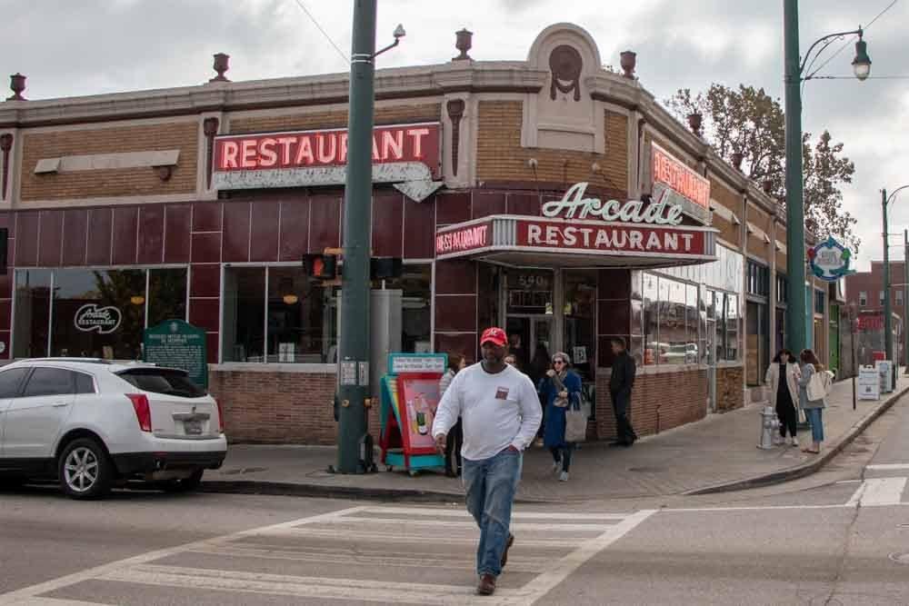 Arcade Restaurant in Memphis