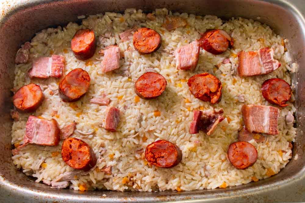 Arroz de Pato Ready for Oven at Lisbon Cooking Academy