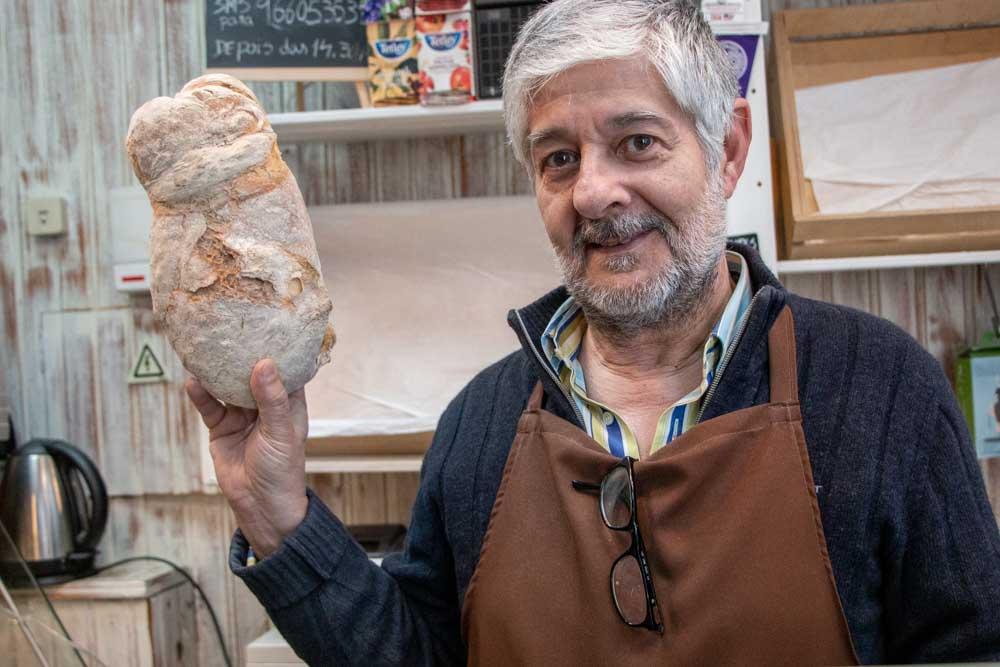 Baker at Lisbon Market