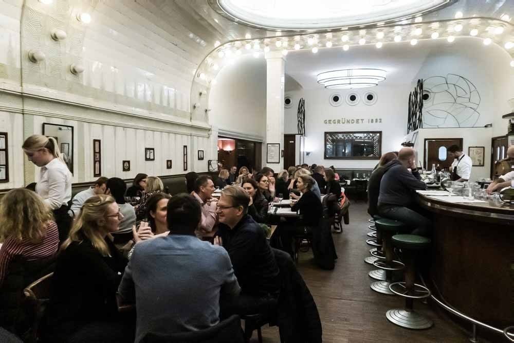 Cafe Paris in Hamburg Germany
