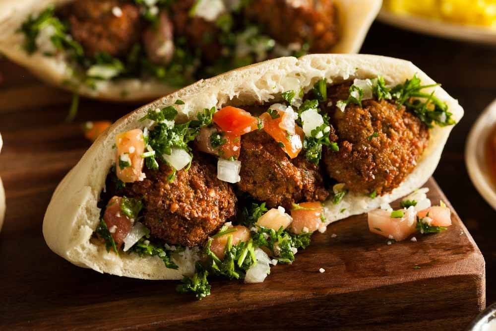 Egyptian Food Falafel