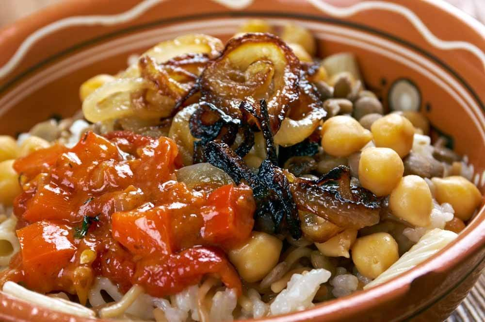Egyptian Food Kushari