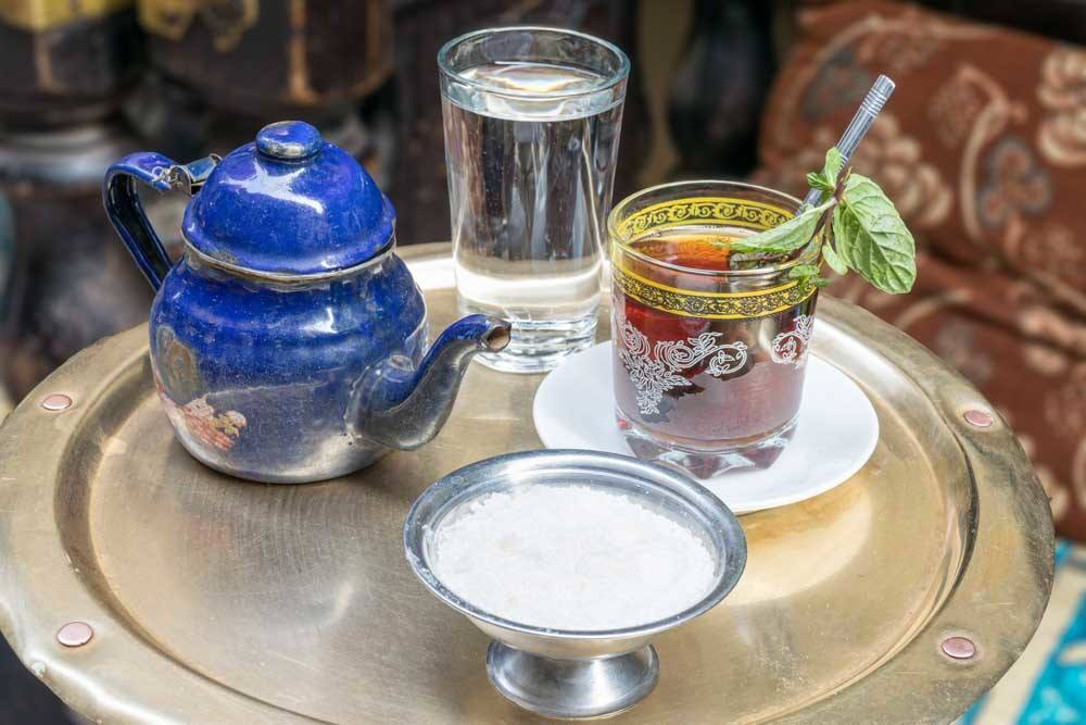 Egyptian Mint Tea