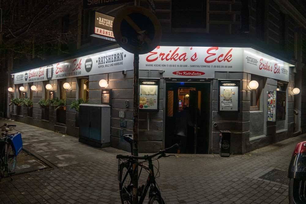 Erikas Eck in Hamburg Germany