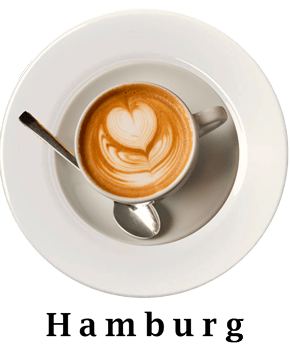 Hamburg Coffee Plate