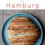 Pinterest image: image of food in Hamburg with caption reading 'Where to Eat in Hamburg'