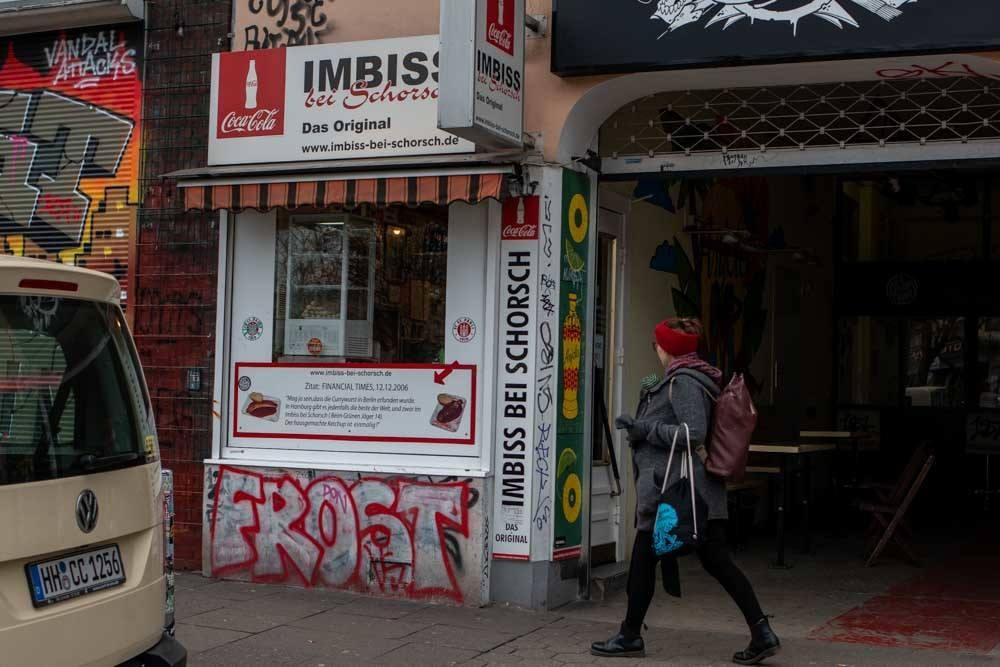 Imbiss Bei Schorsch in Hamburg Germany