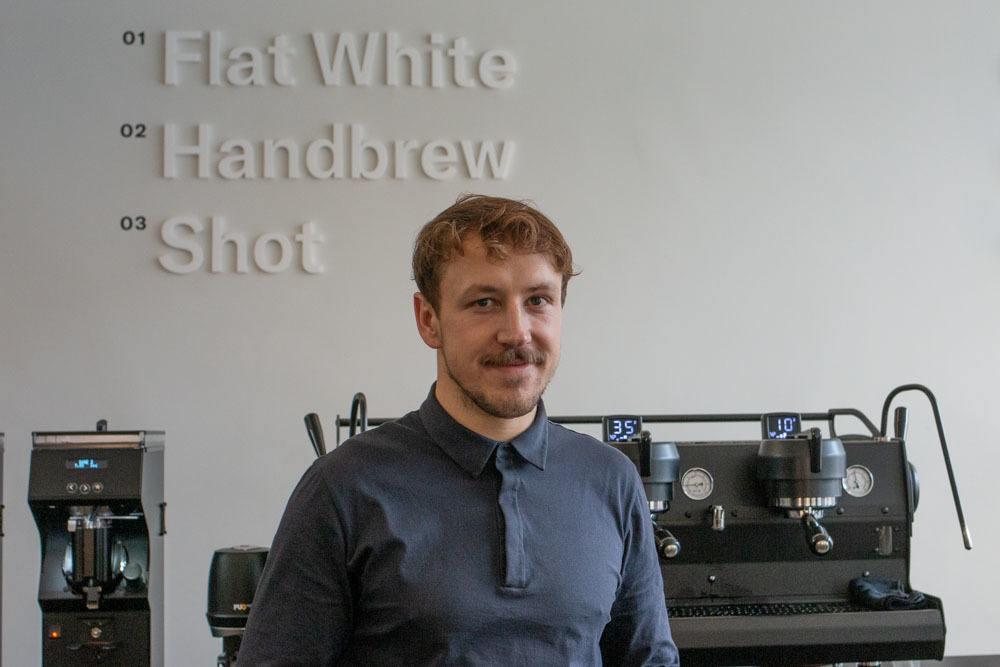 Linus Koster at tornqvist in Hamburg Germany