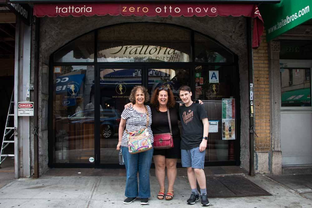 Pizza Crawlers at Zero Otto Nove in the Bronx