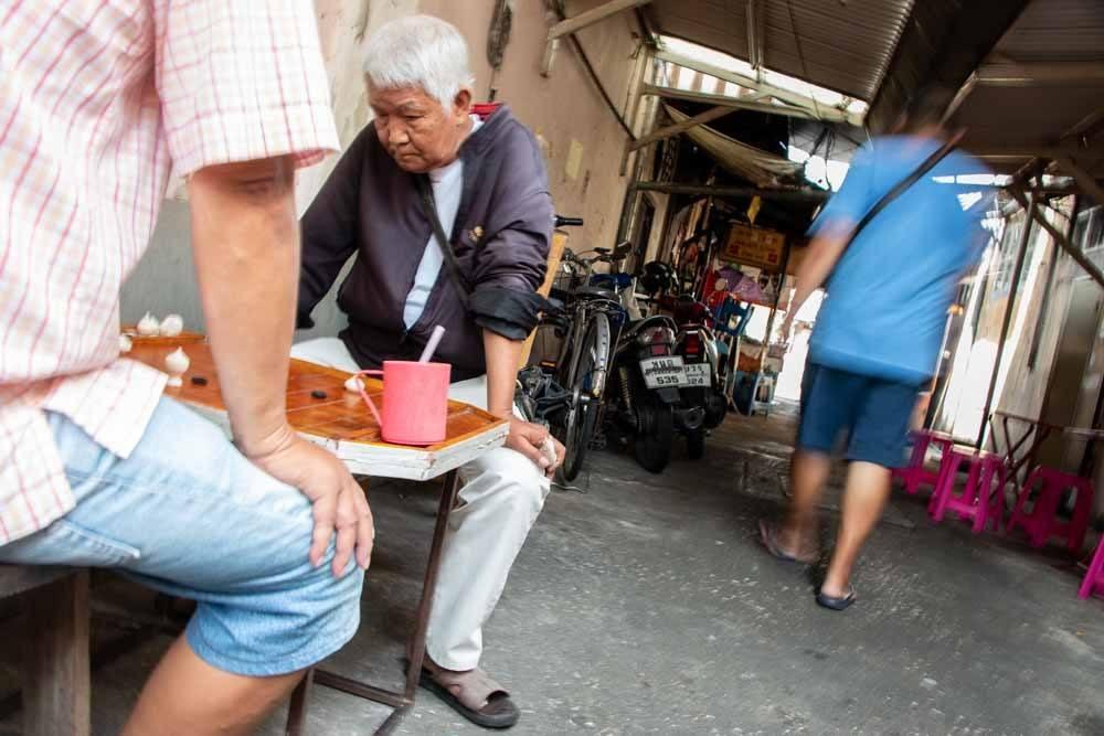 Bangkok Back Street Locals